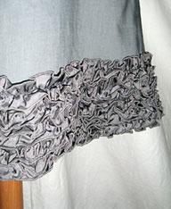 Kleid verlangern borte